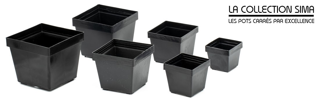 La qualité des pots de cultures SIMA